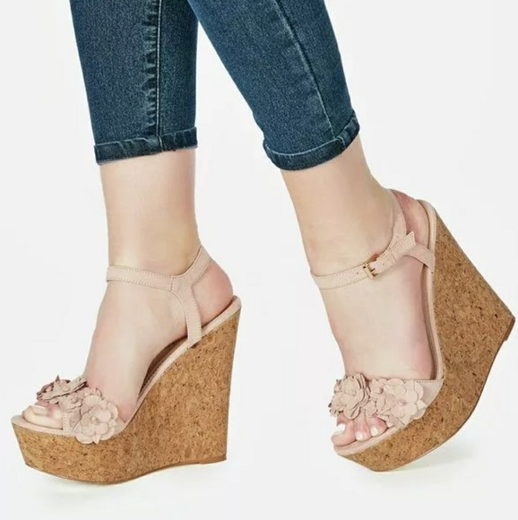 322a2adfd7d Cute wedge heels